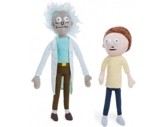 33% off Rick and Morty Plushes