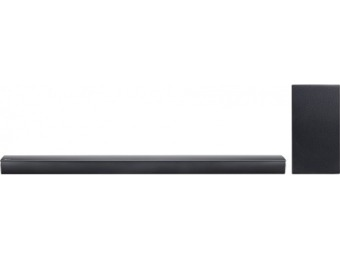 $121 off LG SJ4Y-S 2.1Ch Bluetooth Home Theater Sound Bar System