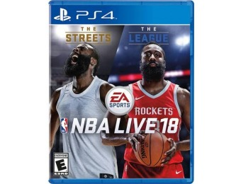 62% off NBA LIVE 18 - PlayStation 4