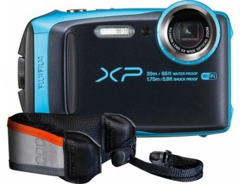 $80 off Fujifilm FinePix XP120 16.4-MP Waterproof Digital Camera