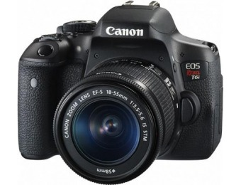 $300 off Canon EOS Rebel T6i DSLR with EF-S 18-55mm IS STM Lens