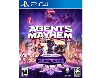 86% off Agents of Mayhem - PlayStation 4