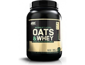 71% off Optimum Nutrition Oats and Whey Protein Powder