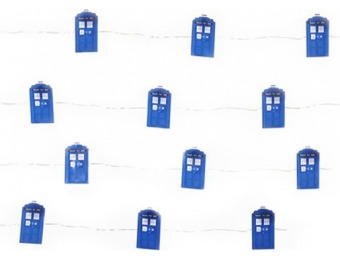 77% off Doctor Who TARDIS Fairy String Lights