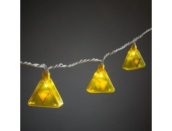 80% off Legend of Zelda Triforce String Lights