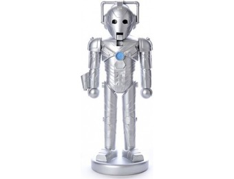 80% off Doctor Who Cyberman Nutcracker
