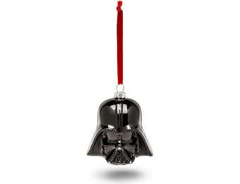 70% off Hallmark Star Wars Darth Vader Helmet Blown Glass Ornament
