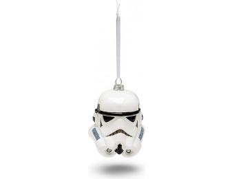 70% off Hallmark Star Wars Stormtrooper Helmet Blown Glass Ornament