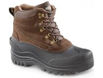 55% off Guide Gear Men's Insulated Winter Boots, 600 Grams