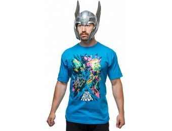 50% off Thor Ragnarok Cosmic Battle Buds T-Shirt
