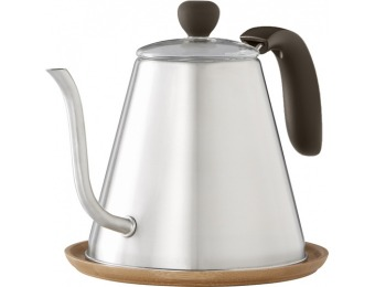 50% off Caribou Coffee 34-Oz. Stainless Steel Kettle