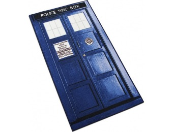 40% off Doctor Who TARDIS Rugs