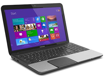"$170 off Toshiba Satellite C855 15.6"" Laptop after $50 easy rebate"