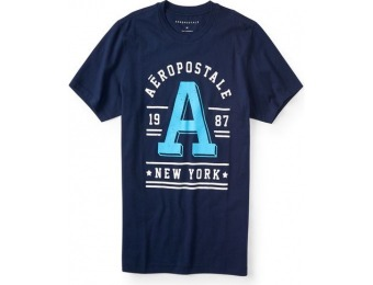 67% off Aeropostale 1987 Graphic Tee