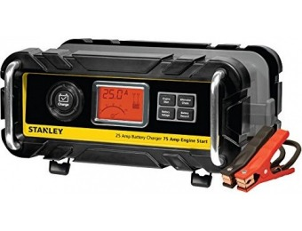 41% off Stanley 25A Bench Battery Charger & Engine Start