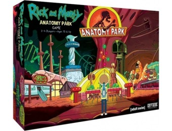 37% off Rick and Morty Anatomy Park Board Game