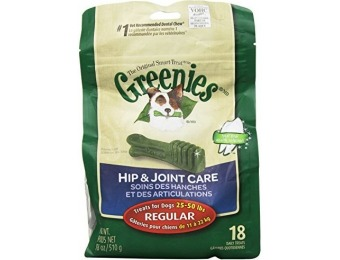 77% off Greenies Hip and Joint Care Canine Dental Chews