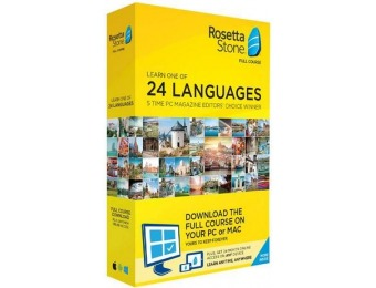 $123 off Rosetta Stone - Full Course Online Subscription (2-Year)
