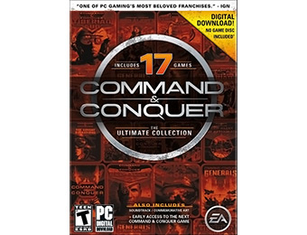 64% off Command & Conquer: The Ultimate Collection (PC Download)