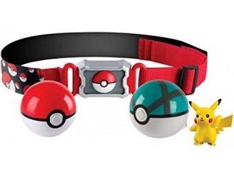 81% off Pokémon Clip 'N' Carry Poké Ball Belt