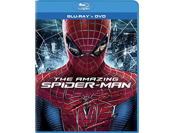 55% off The Amazing Spider-Man (Blu-Ray + DVD + UltraViolet)
