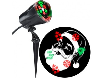 85% off LED Multi-design Christmas Outdoor Stake Light Projector