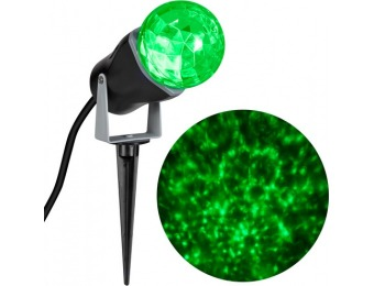 85% off Green LED Kaleidoscope Christmas Outdoor Projector