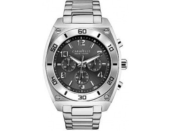 90% off Caravelle Men's Stainless Steel Chronograph Watch