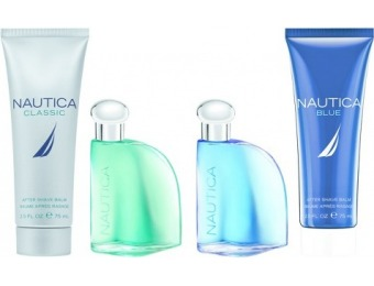70% off Nautica Omni Blue and Classic Men's Fragrance Gift Set