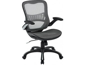 $256 off Office Star Mesh Back & Seat 2-to-1 Synchro Managers Chair