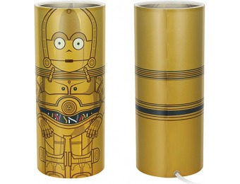 88% off Star Wars C-3PO Desktop Accent Lamp