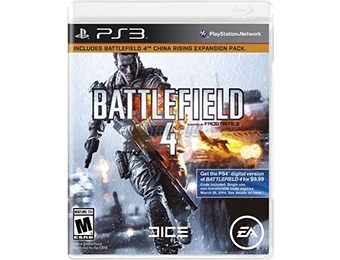 $10 Promo Gift Card w/ Battlefield 4 Playstation3