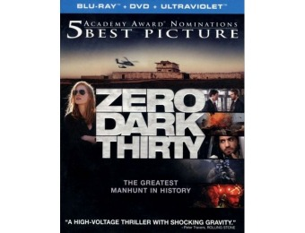75% off Zero Dark Thirty (Blu-ray + DVD + Digital)