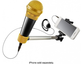 55% off SelfieMic Selfie Stick with Microphone