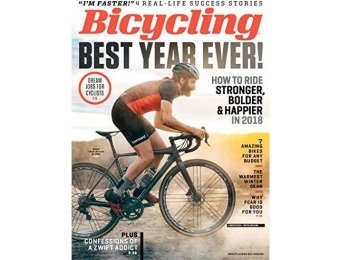 80% off Bicycling Magazine Subscription