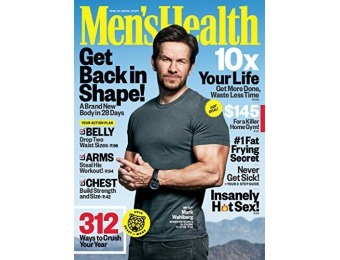 80% off Men's Health Magazine Subscription