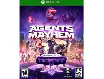 91% off Agents of Mayhem: Day One Edition - Xbox One