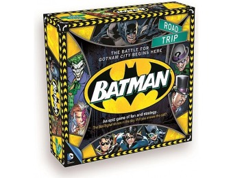 75% off Aquarius Batman Road Trip Board Game