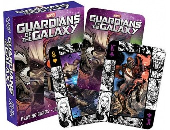 75% off Guardians of the Galaxy Playing Cards