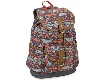 69% off Tribal Print Canvas Backpack