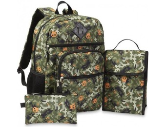 69% off Skull Boys' Backpack, Lunch Bag, Pencil Case & Water Bottle