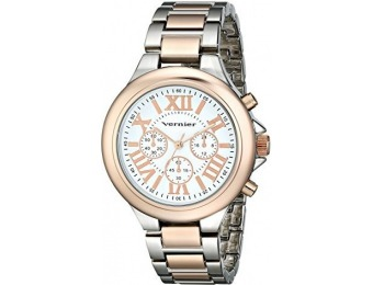 86% off Vernier Women's VNR11157TTR Analog Watch