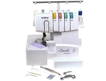 71% off Brother 1034D 3 or 4 Thread Serger, Differential Feed