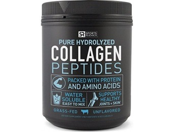 54% off Pure Hydrolyzed Collagen Peptides, Dietary Supplement