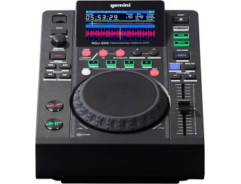 $120 off Gemini MDJ-500 Professional USB DJ Media Player