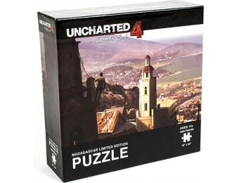 80% off Uncharted 4 Madagascar Limited Edition 1000pc Puzzle