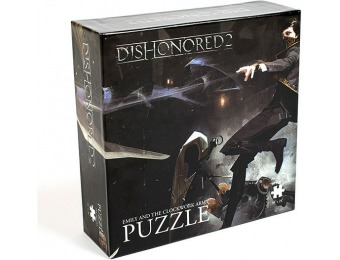 80% off Dishonored 2 Emily and the Clockwork Army 750pc Puzzle