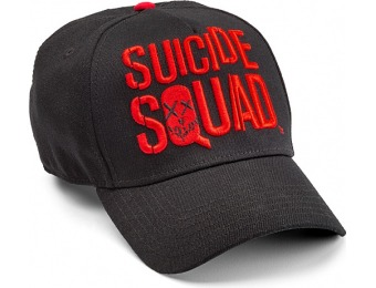 84% off In Squad We Trust Suicide Squad Fitted Cap