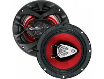 "40% off Boss Audio 6.5"" 3-way Speakers"