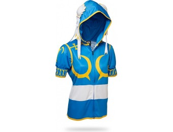 80% off Street Fighter Chun-Li Hoodie